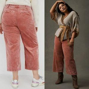 NWT Anthropologie Pilcro High Rise Corduroy Pants